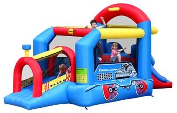 Afbeeldingen van HappyHop Bouncy Train 9054N