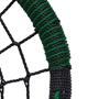 Afbeeldingen van Nestschommel OVAL zwart/groen