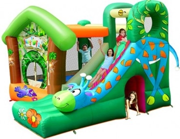 Afbeeldingen van HappyHop Jungle Fun Springkussen 9139
