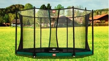 Afbeeldingen van Berg InGround Champion trampoline 270 + Safety Net Comfort