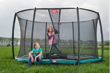 Afbeeldingen van Berg InGround Champion trampoline 270 + Safety Deluxe
