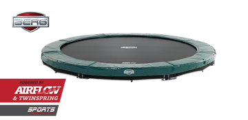 Afbeeldingen van Berg InGround Elite 380 Green Trampoline