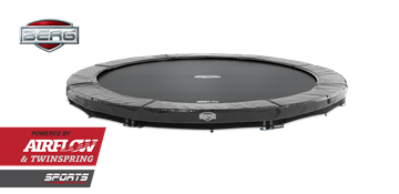 Afbeeldingen van Berg InGround Elite 380 Grey Trampoline