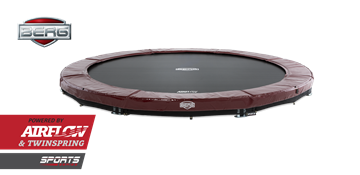 Afbeeldingen van Berg InGround Elite 380 Red Trampoline